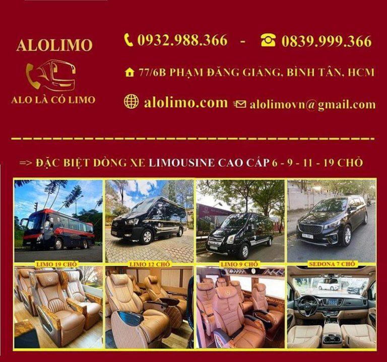 Nhà xe Alolimo mang lại cho khách hàng sự chu đáo