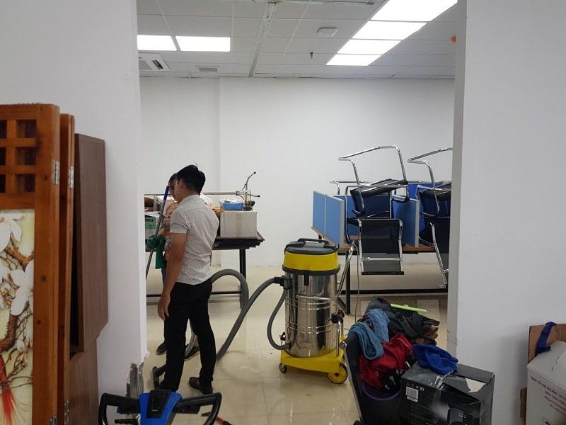 vệ sinh nhà ở Hà Nội 2020